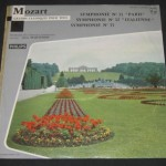 martinon mozart philips LP cover