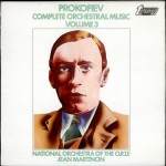 prokofiev martinon ortf lp 3 cover