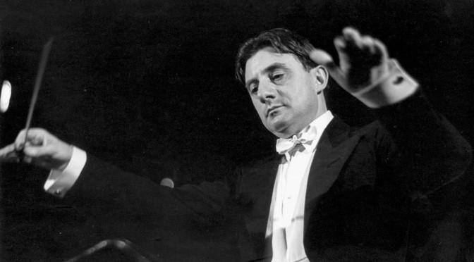 Sir John Barbirolli et la Sinfonia da Requiem de Britten