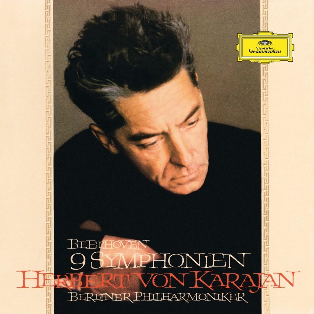 Cover simple Karajan Beethoven