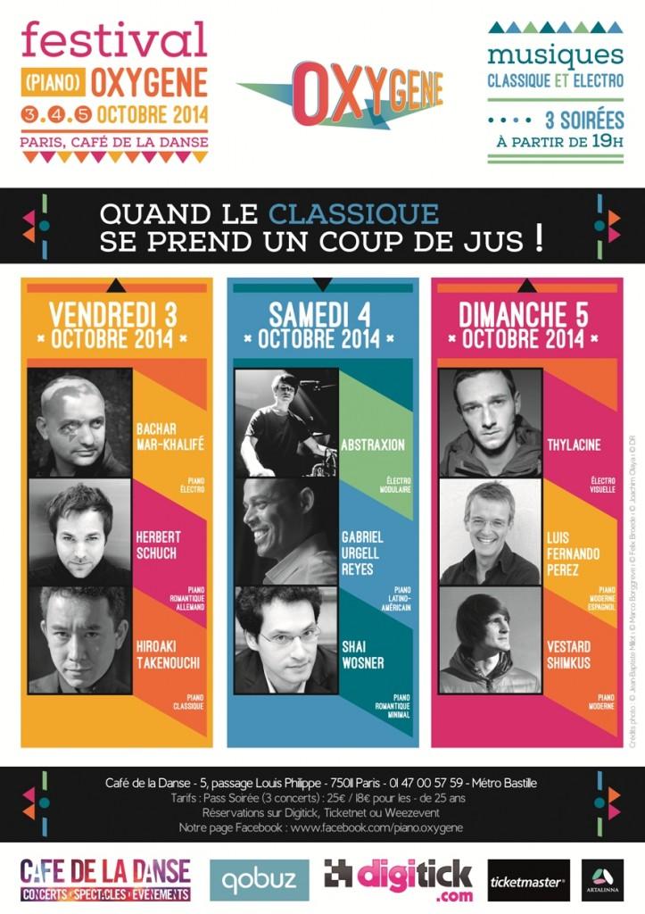 affiche festival piano oxygene