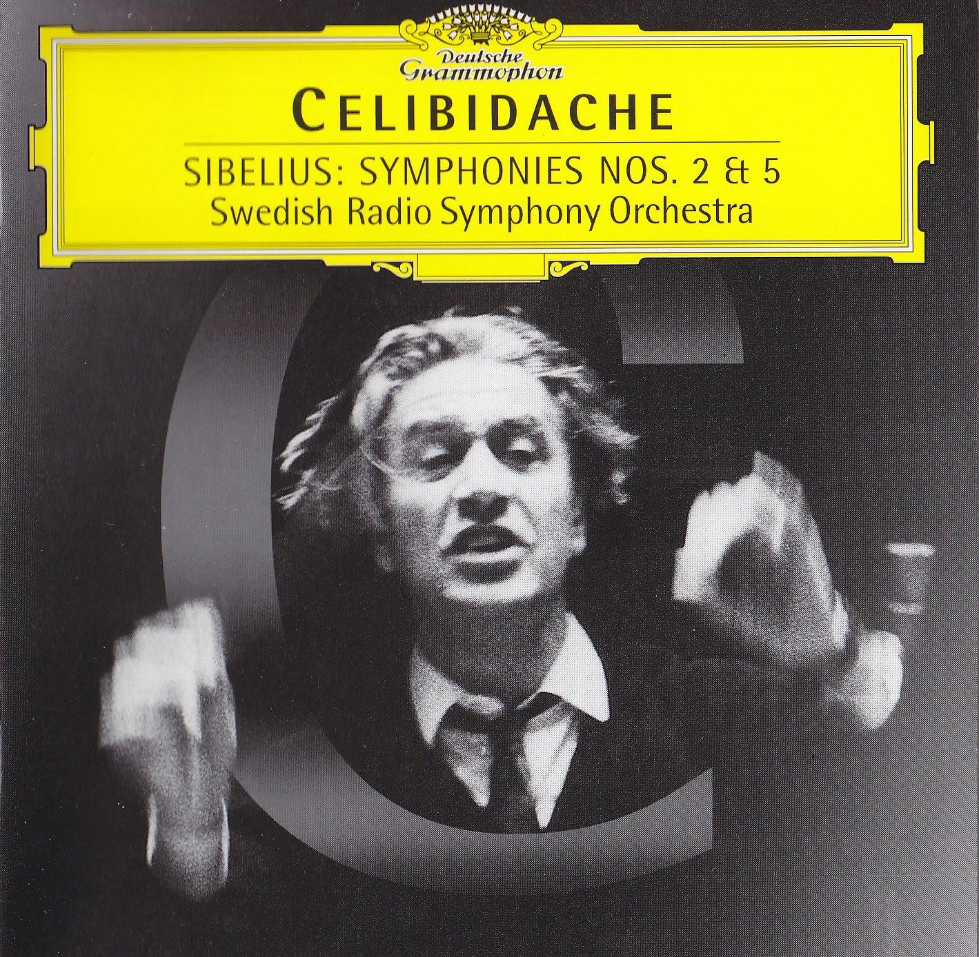 cover celibidache sibelius swedish radio dgg