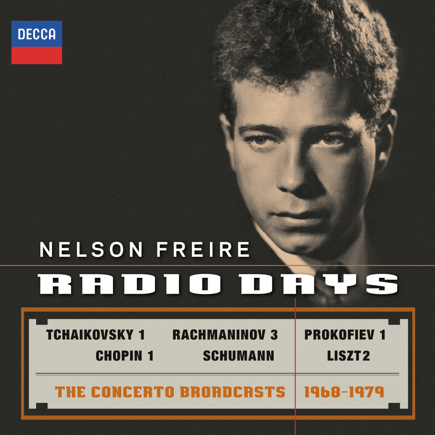 cover freire radio days decca