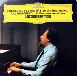 cover prokofiev rachmaninov berman dgg