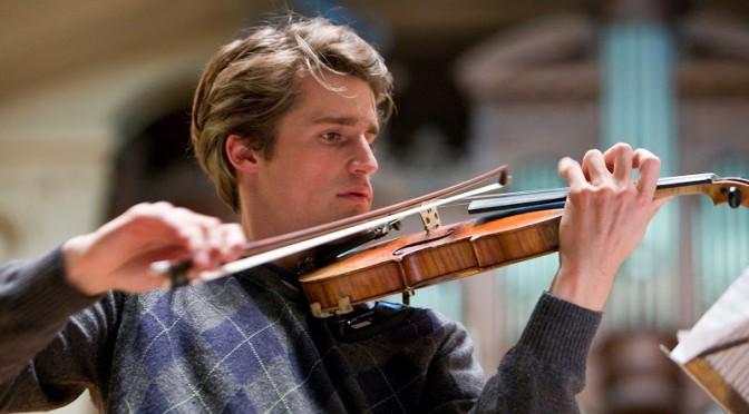 Le jeune homme et le violon