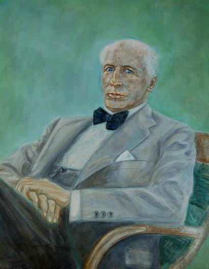 Portrait-CarlSchurichtAuFauteuil (c) Isabelle Ehly