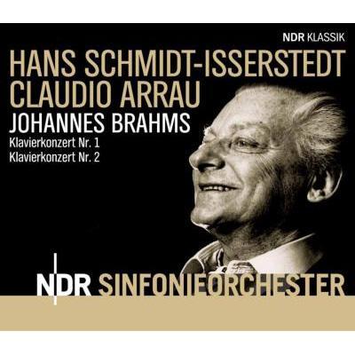 cover brahms concertos hamburg