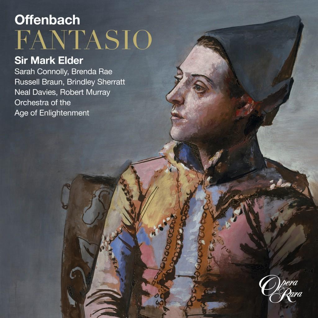 cover offenbach elder fantasio opera rara