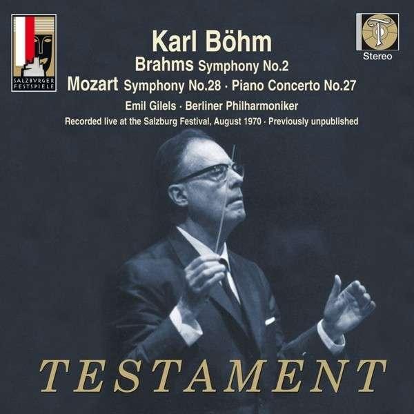 cover böhm mozart brahms testament