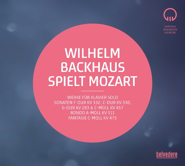 Mozart - Backhaus_Cover