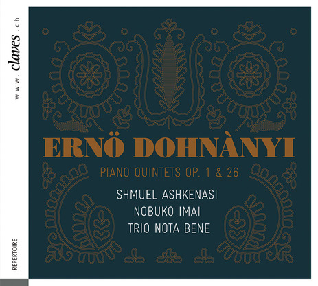 cover dohnanyi nota bene claves
