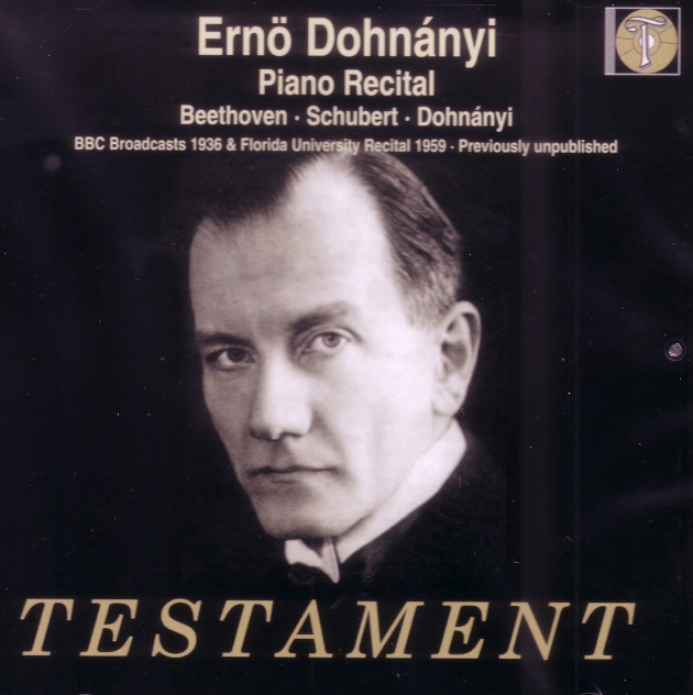 cover recital dohnanyi recital testament
