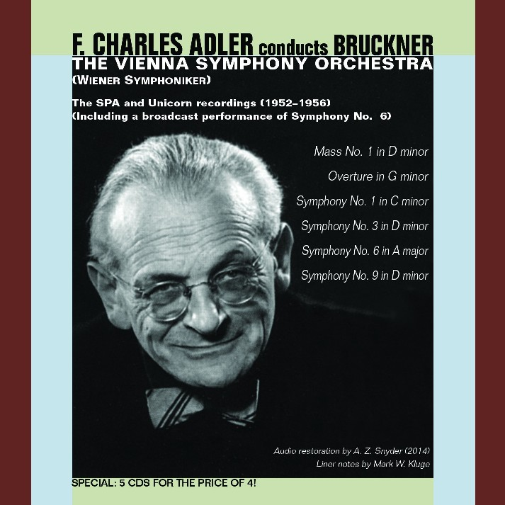 cover bruckner adler music and arts