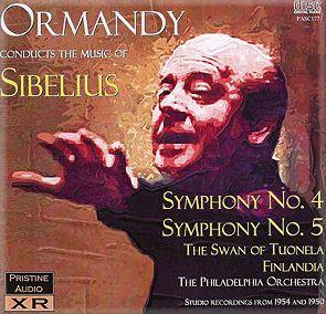 cover sibelius ormandy 4 5