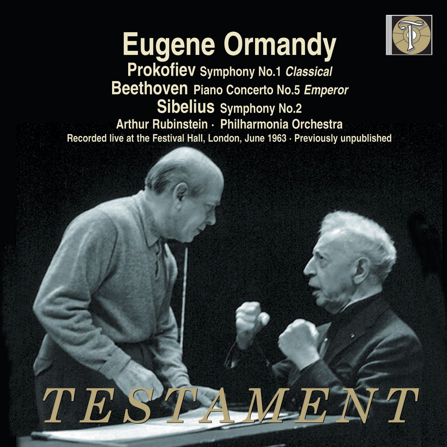 cover sibelius ormandy testament