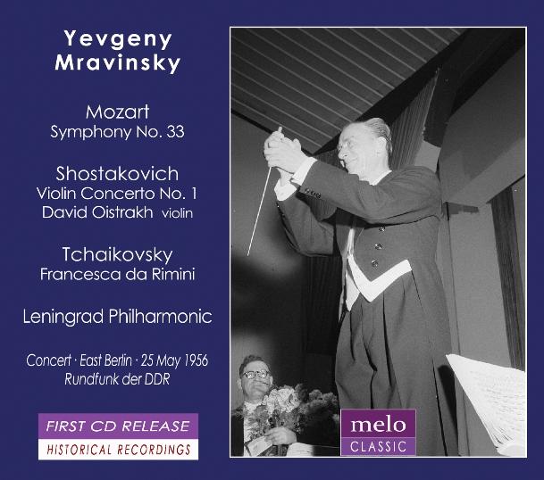 cover Evgeni Mravinski album Meloclassic