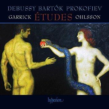 cover ohlsson debussy etudes hyperion