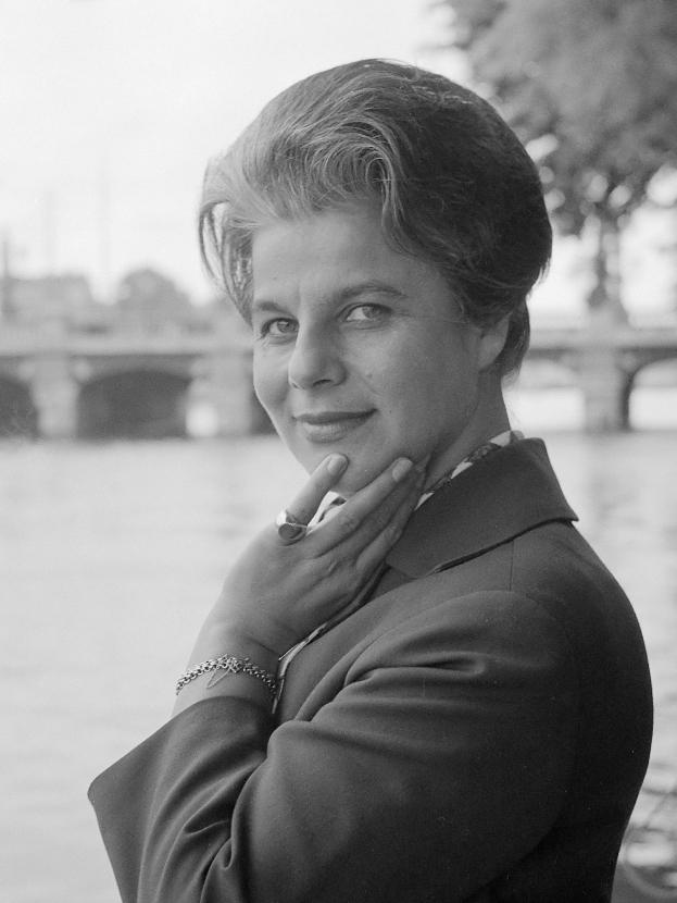 Photo Irmgard Seefried 1962