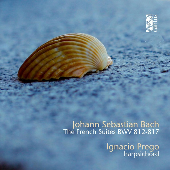 cover bach cantus french suites prego