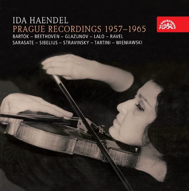 cover coffret Ida Haendel Supraphon