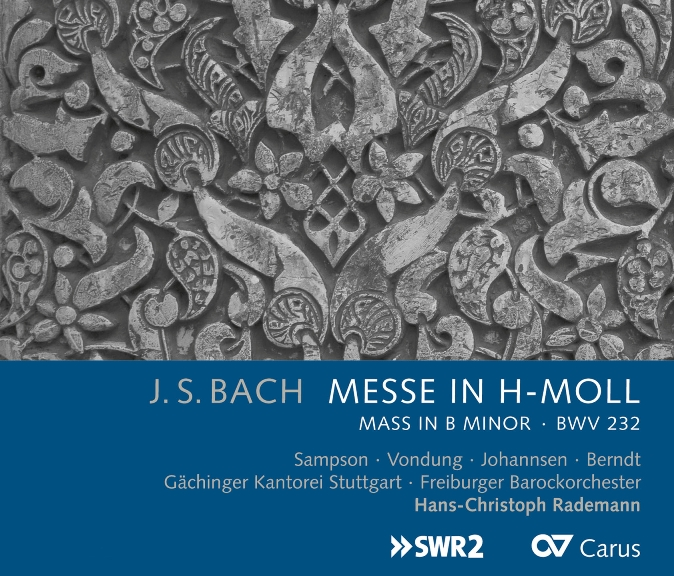 Cvr Bach messe en si Rademann