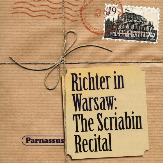 cover richter scriabin warsaw parnassus