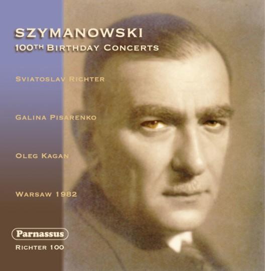 cover richter szymanowski 100 parnassus