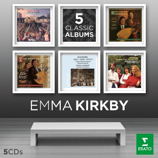 Emma 5 Classic albums erato cover