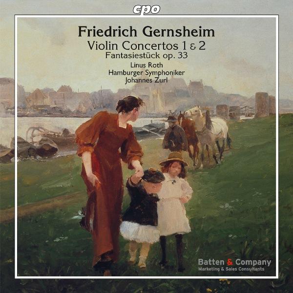 Cvr Gernsheim Violin Concertos