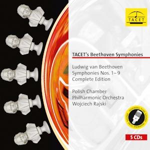 cover beethoven symphonies tacet