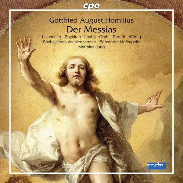 cover homilius messias jung cpo