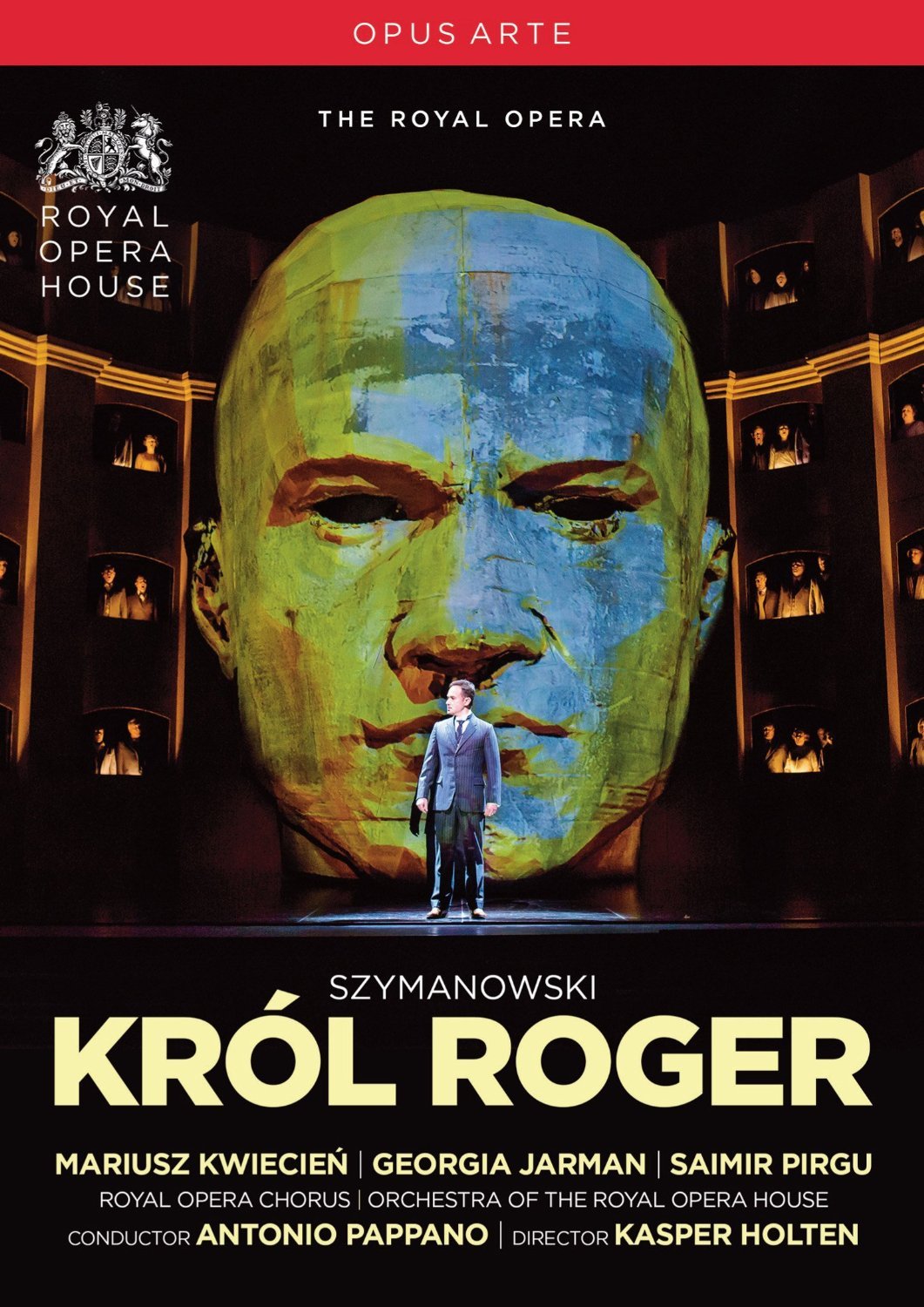 cover roi roger DVD pappano