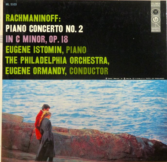 cover LP rachma 2 istomin ormandy CBS