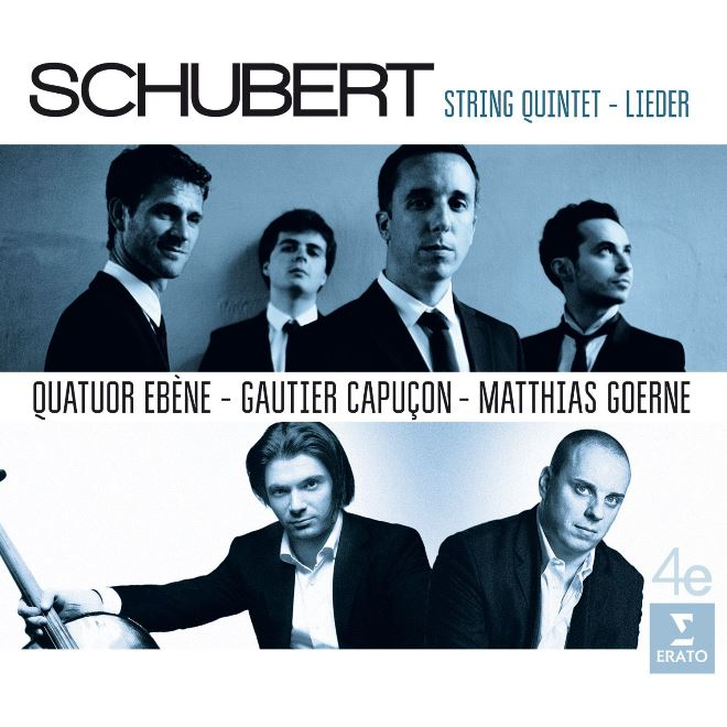 cover schubert ebene quintet erato