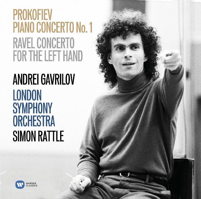 cover ravel prokofiev rattle gavrilov
