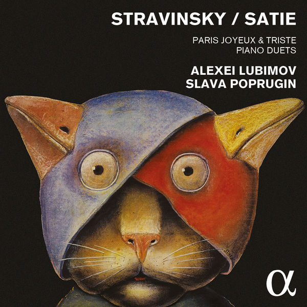 cover satie lubimov alpha
