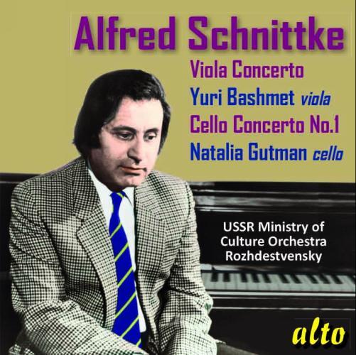 cover schnittke concertos alto melodiya