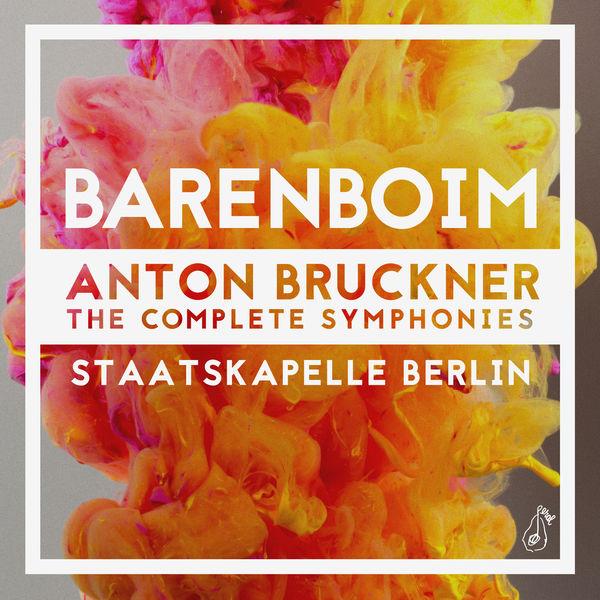 cover barenboim bruckner symphonies