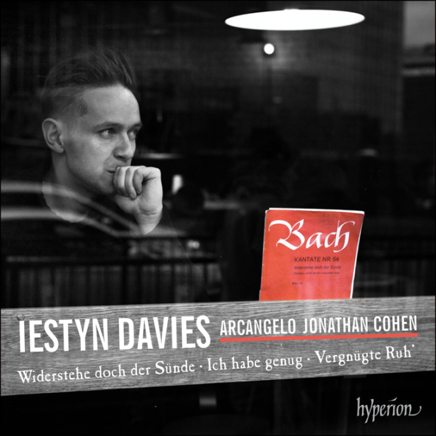 cover hyperion bach cantates davies