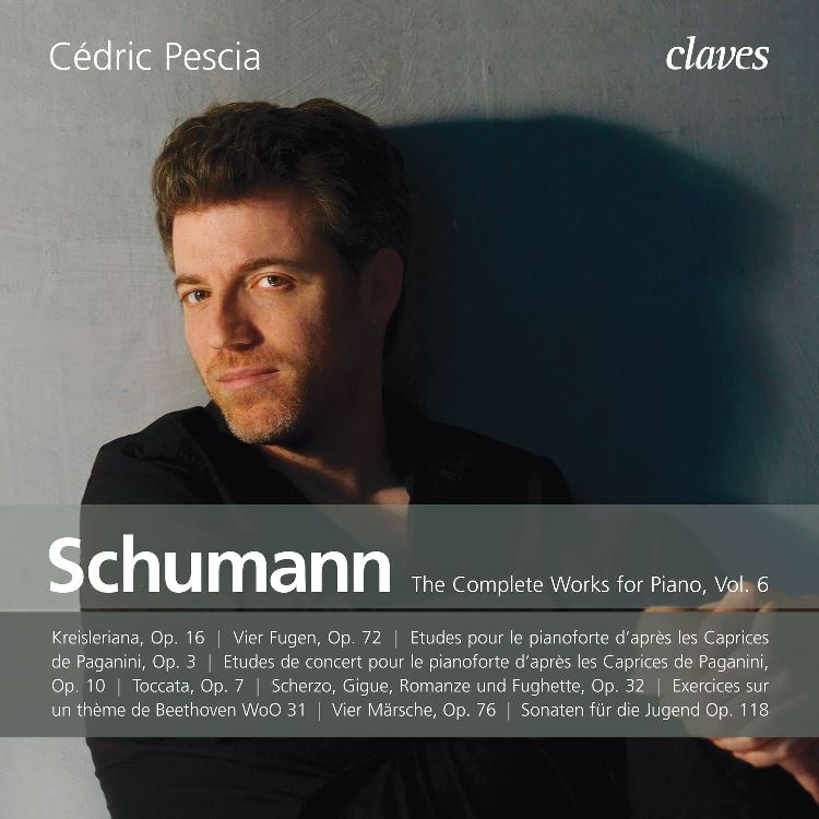 cover schumann 6 pescia claves