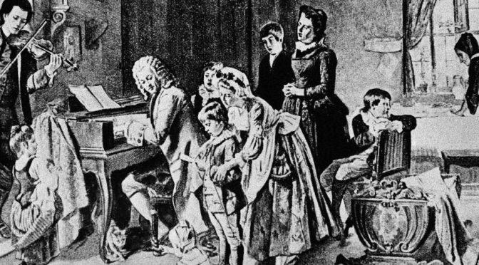 Les claviers de Bach
